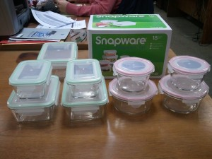 Snapware glass dishes