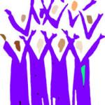 joy choir blue