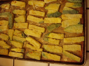 Zucchini Baked Done
