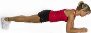 plank exercise side view