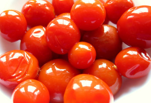 dherry tomatoes
