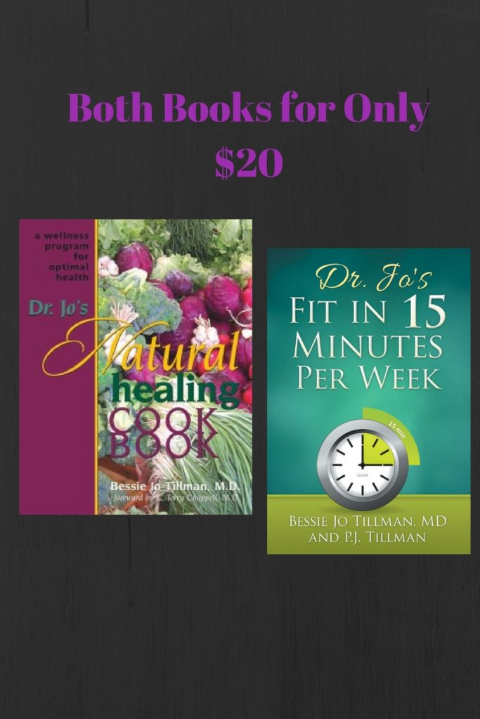 Dr. Jo's 2 books for only $20